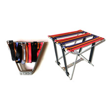 цена Portable Stool Folding Fishing Chair SSmall Bench Portable Metal Thickening Camping Chair Outdoor Sketch Travel Chair Mini Seat