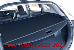Car Rear Trunk Security Shield Cargo Screen Shield shade Cover Fits For Jeep Patriot 2011 2012 2013 2014 2015 2016 2017