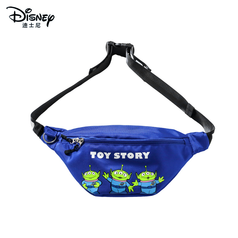 Genuine Disney Mickey Mouse Toy Story Fashion Cartoon  Waist Packs  Waist Pack  Glitter Purse  Money Bag  Fashion Purses