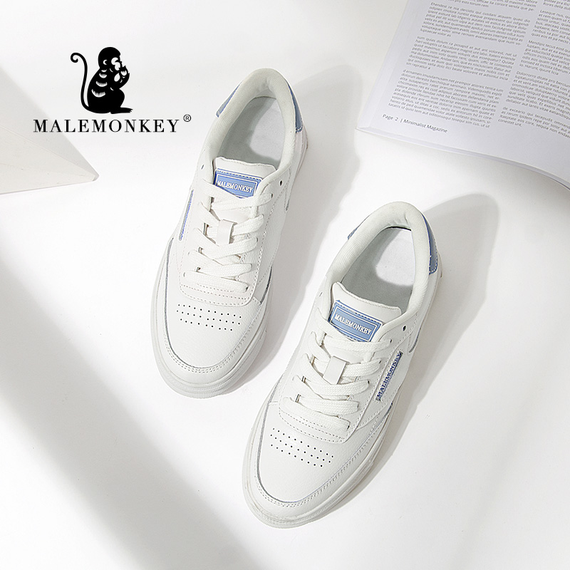 1320 Fashion Women Casual Shoes Spring PU Ladies Footwear Flats Platform Summer 2020 Newest Breathable Light Women Sneakers