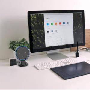 Image 5 - Supporto da tavolo Per Amazon Echo Dot 3rd Generazione Alexa di Smart Voice Assistenti Altoparlante Supporto Staffa Risparmio di Spazio