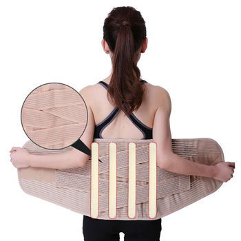 Widened Waist Support Belt Medical Lower Back Support Belt Men Women Spine Lumbar Support Corset Orthopedic Back Support Brace neoprene orthopedic back brace belt lumbar back support brace waist band relieve lower back pain aft y006