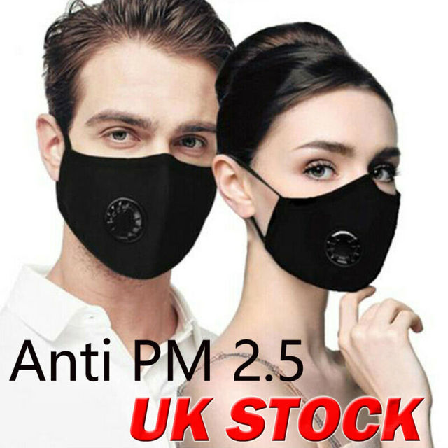 Reusable Face Cover Anti Dust Flu with Cabon Filter Mouth Protection Pad Shield 1