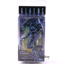 Clube Exclusivo 2019 Guerreiro Alienígena NECA Aliens Figura Collectible Toy Modelo PVC Figuras de Ação NECA Alienígena(China)