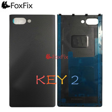 Back Housing For BlackBerry Key2 Battery Cover Rear Door Case Key 2 Replacement For BlackBerry KeyTwo Battery Cover Black Silver cell phone battery charger case for blackberry z10 black