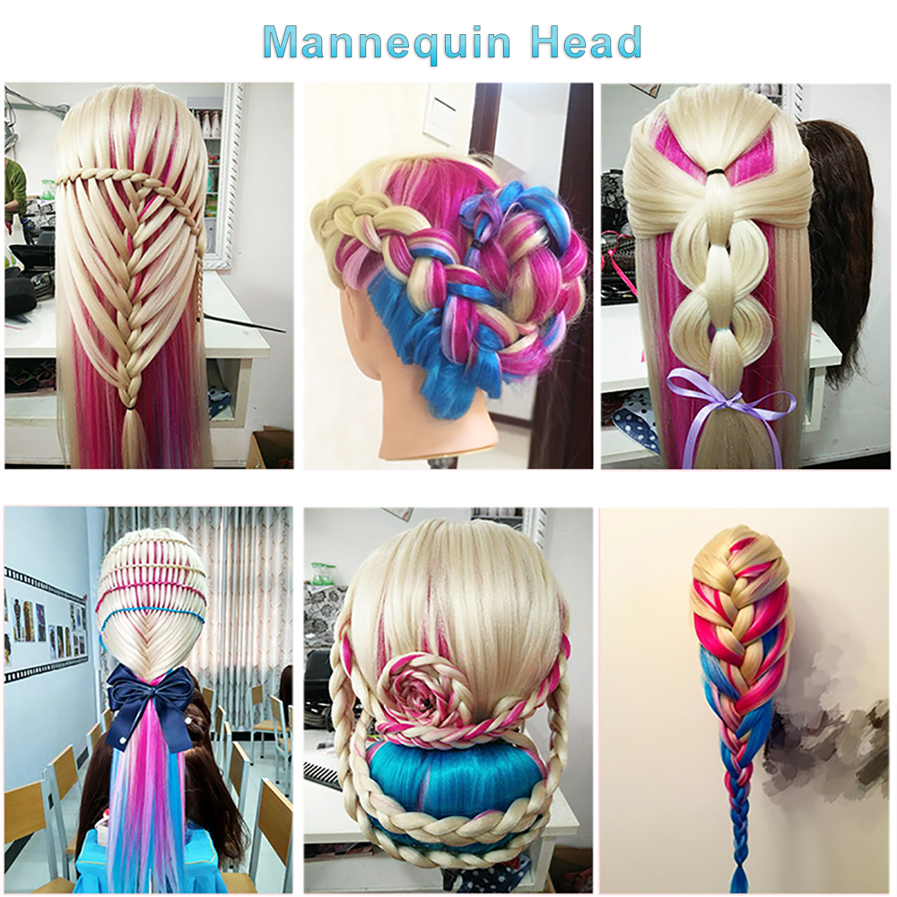 7-Cosmetology Mannequin Head