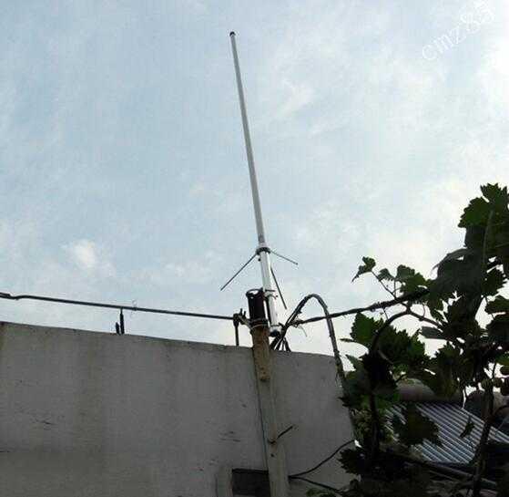 Antenne double bande en fibre de verre 144 430M vhf uhf double bande jambon radio répéteur antenne en fibre de verre vhf144M UHF430M antenne en fibre de verre