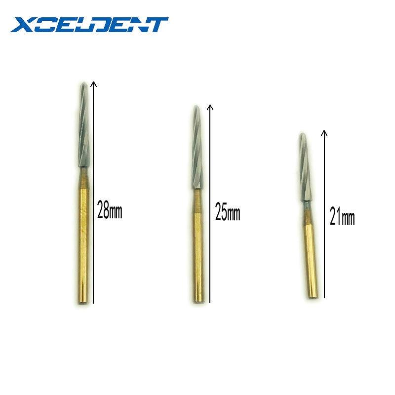 1pc Dental Diamond FG High Speed Burs For Polishing Smoothing SF SERIES Dental Burs 1.6mm Endo-z