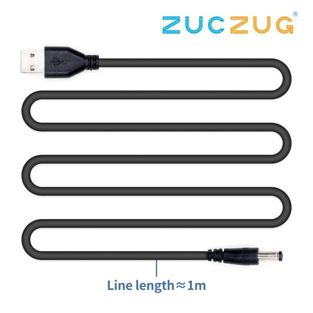 QC2.0 To DC QC2.0 Trigger Boost Line 9V-12V USB Power Supply