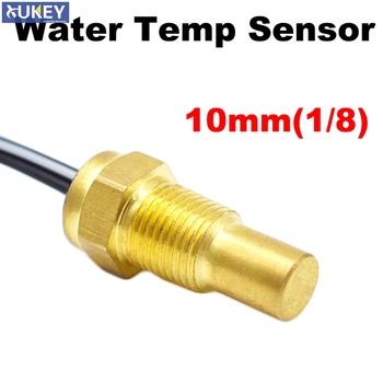 Uniwersalny 12V 24V czujnik temperatury wody nadawcy 50K głowy wtyczka 10mm 1 8 dla samochodów lub ciężarówek Gauge licznik elektryczny jednostka tanie i dobre opinie CN (pochodzenie) -40~135 degC Czujnik temperatury wprowadzanego powietrza W Rury Wlotu Powietrza none
