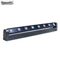 stage light 8*12w beam Led RGBW Bar Washer Light Moving Head Light DMX 512 10/38Channel DJ Show lighting equipment