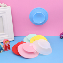 Mat Dish-Bowl Baby Sucker Tableware Suction-Cup Coaster Cup-Pad Double-Sided