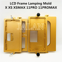 LCDกรอบหนีบแม่พิมพ์สำหรับIp 11pro Max X Xs Xsmaxกลางกรอบหน้าจอLcd Holding Together