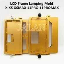 LCD الإطار لقط القالب ل ip 11pro ماكس x xs xsmax الإطار الأوسط شاشة lcd عقد معا