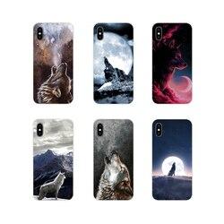 Аксессуары, чехлы для телефонов, Белый Волк, искусство для Xiaomi Mi4 Mi5 Mi5S Mi6 Mi A1 A2 A3 5X 6X 8 CC 9 T Lite SE Pro