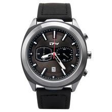 TPW New Mens Watches Stopwatch Genuine Leather Top Brand Luxury Sports Waterproo