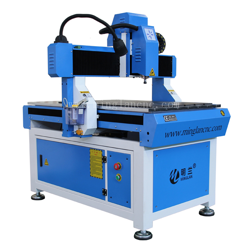 Small Size 6090 Advertising Cnc Router Engraving Machine
