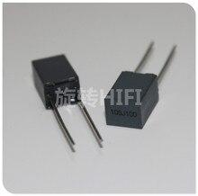 20pcs Xiamen Faratronic CL23B 1UF 100V 63V1UF P5MM FARA CL23 105 cinza filme capacitor 105/100V 1000NF 1.0UF63V