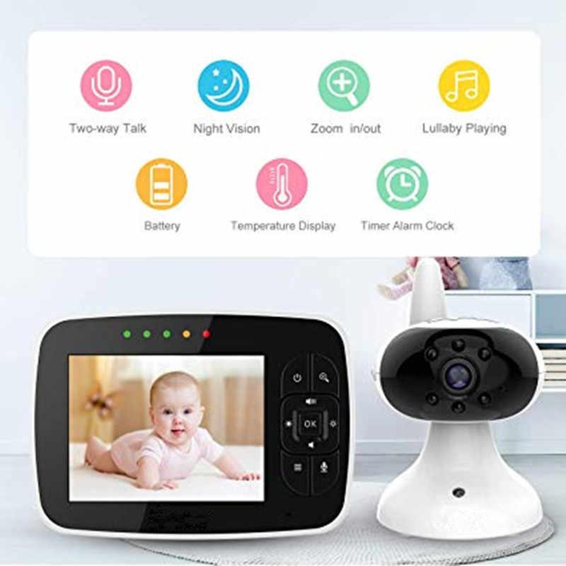 """MBOSS 3,5 """"ЖК-экран цифровой видео детский монитор 2 способ разговора безопасности беспроводной детский фотоаппарат ночного видения электронный няня"""