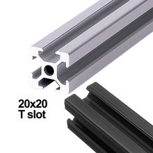 1 шт алюминиевый профиль для 3d принтера 6 мм 20 х20 т