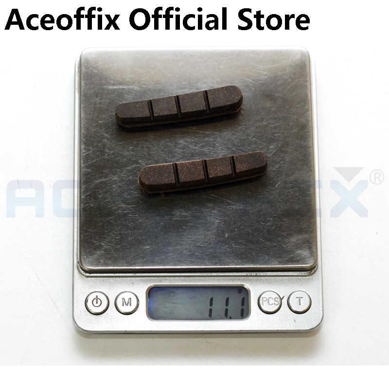 Aceoffix 1 para miękkiej gumy + drewna rowerów buty rowerowe dla Brompton rower składany obręczy węgla