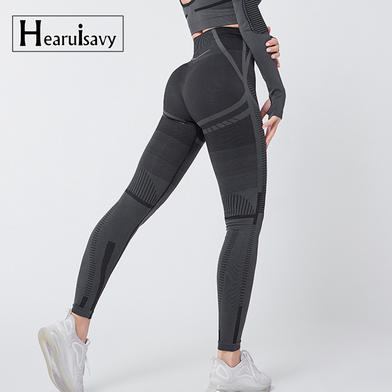 Gym Seamless Leggings Women Fitness Yoga Pants Geo High Wait Sport Legging Workout Jogging Trousers Sports Tights
