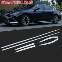 Body Door Handle Headlamp Automobile Modified Decorative Car Styling Sticker Strip Accessory Decoration 18 FOR Lexus ES series
