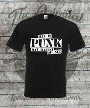 T-Shirt Groe S - 4XL Dat jest Punk dat raffst du nie Punkrock Punx Oi Punk Rock