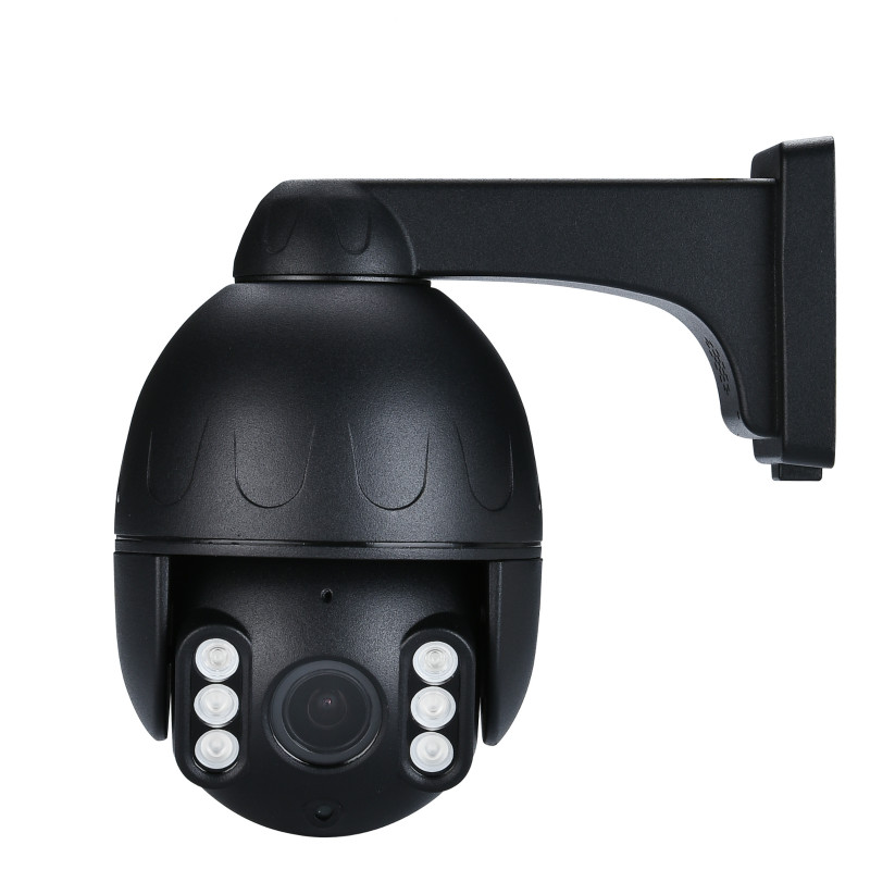 4K Untra HD POE IP Dome kamera mit Hikvision protokoll APP control zwei-weg audio 8MP 4K PTZ kamera SD/Wolke lagerung