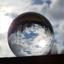 60 см/70 см/80 см прозрачного Стекло мяч Feng Shui фотографии хрустальный шар украшения комнаты Декор для дома подарок шарики для рукоделия подарок