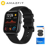 Global Version Xiaomi Huami Amazfit GTS Global Smart Watch GPS 5ATM Waterproof Smartwatch Health Heart Rate AMOLED 12 Sports