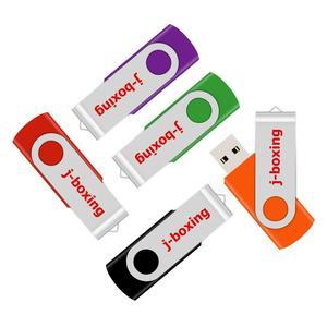 Image 2 - J אגרוף USB כונני פלאש אגודל כונן מתכת סיבוב Pendrives 1GB 2 GB 4GB 8 GB 16 GB 32 GB ססגוניות למחשב Mac Tablet 5 יח\אריזה