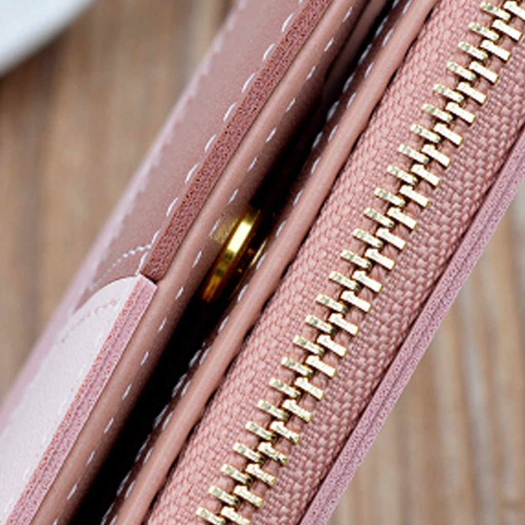 Yeni varış cüzdan kısa kadın cüzdan fermuarlı çanta Patchwork moda panelli değişim çantası moda bozuk para çantaları kart tutucu # YL5