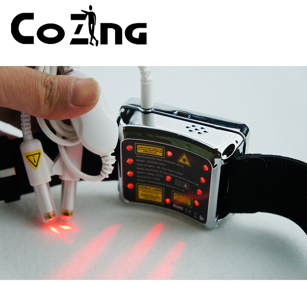 Watch Laser Therapeutic Acupuncture Red Laser Combine Laser Watch Therapy Device in Massage Relaxation from Beauty Health
