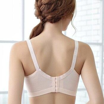 Cotton Breastfeeding Bra | Pregnancy Breast Sleep Underwear 2