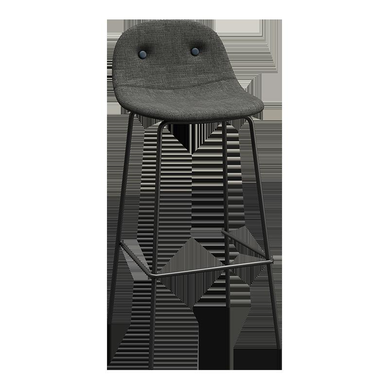 Bar Chair, Nordic Simple Fabric Soft Bag   Creative High Stool,       Chair