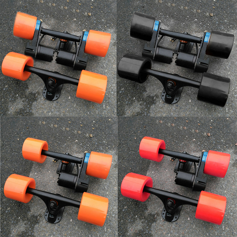 Hot Sell Electric Skateboard Wheels Double Drive Truck Electric Skateboard Single Drive Gear Belts Electric Skateboard