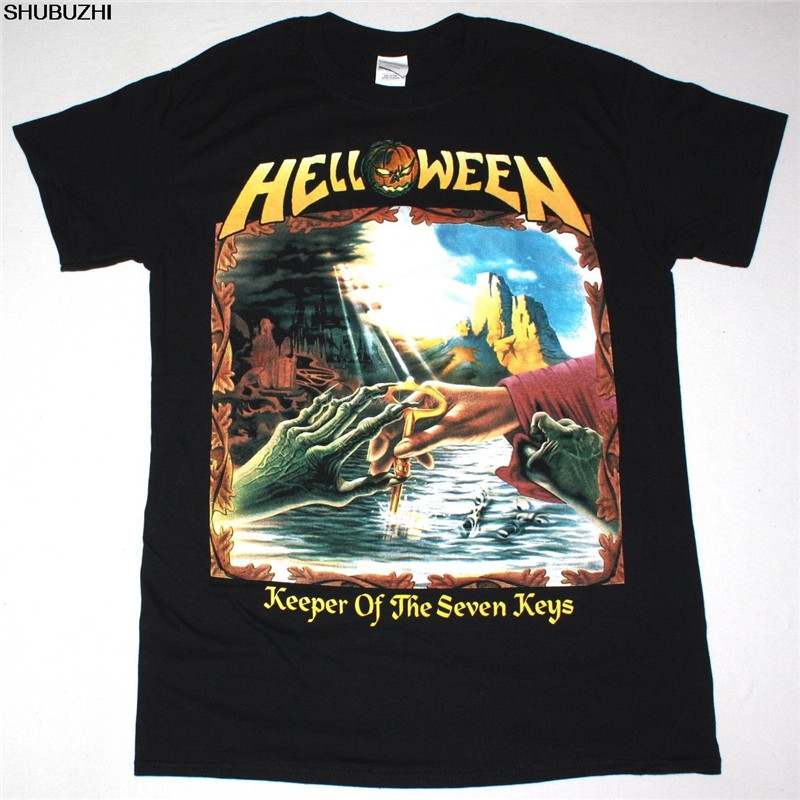 Thrash Metal Death Metal HELLOWEEN Keeper of the Seven Keys Shirt