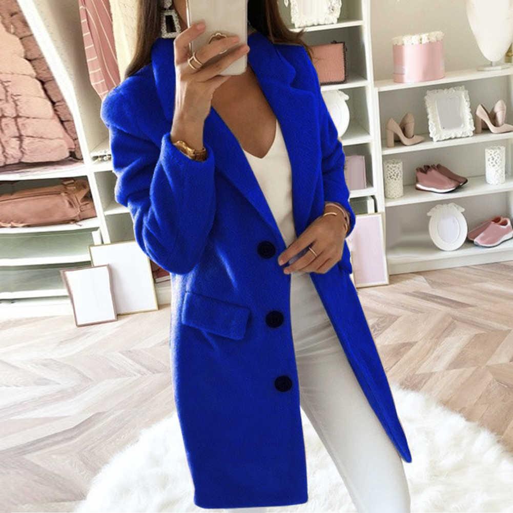 3-5XL الصين رمز الخريف الشتاء طويلة الأكمام سترة بلون المرأة التلبيب سترة معطف المرأة الملابس