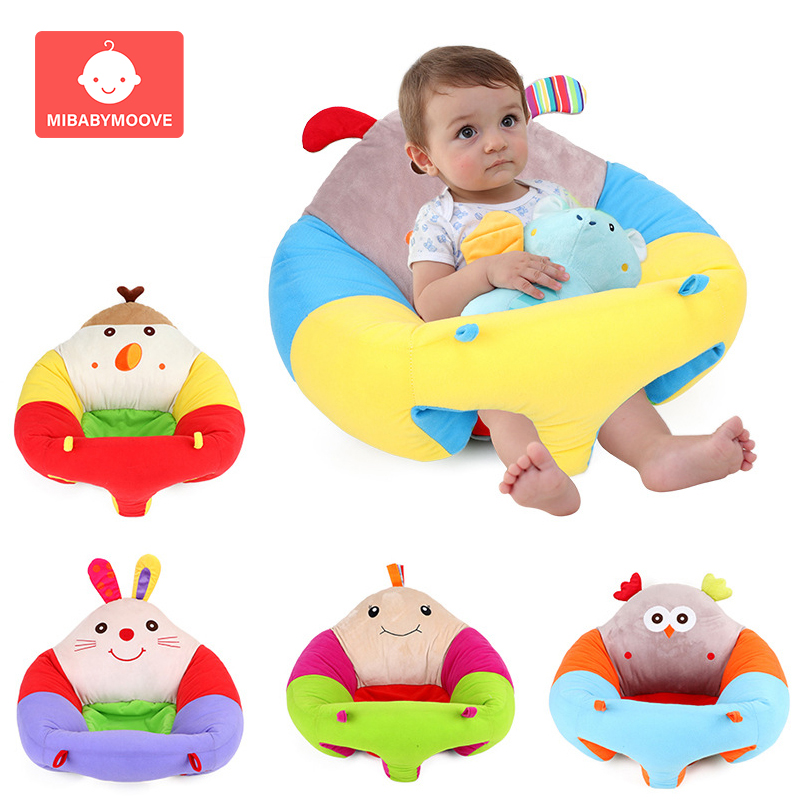 Cartoon Cotton Baby Sitting Cushion Support Children Infant Baby Seat Sofa Chair Toddler Safety Baby Feeding Chair