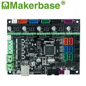 Image 5 - Makerbase 3D מדפסת לוח MKS Gen L בקר תואם עם Ramps1.4/Mega2560 R3 תמיכה A4988/TMC2208/2209TMC2100 נהגים