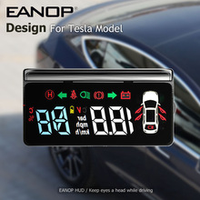 Light-Gear Projector Battery-Display Model Speedometer Windshield HUD Eanop E100 Tesla