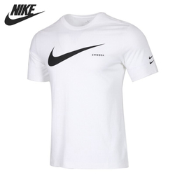 Оригинальный Новое поступление NIKE AS M NSW SWOOSH HBR SS футболка мужские футболки с коротким рукавом спортивная одежда