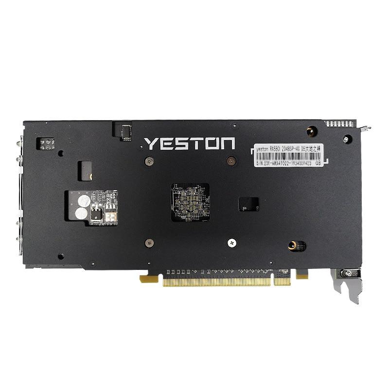 Yeston Radeon RX580 2048SP-4G GDDR5 PCI Express x16 3.0 video gaming graphics card external graphics card for desktop 2