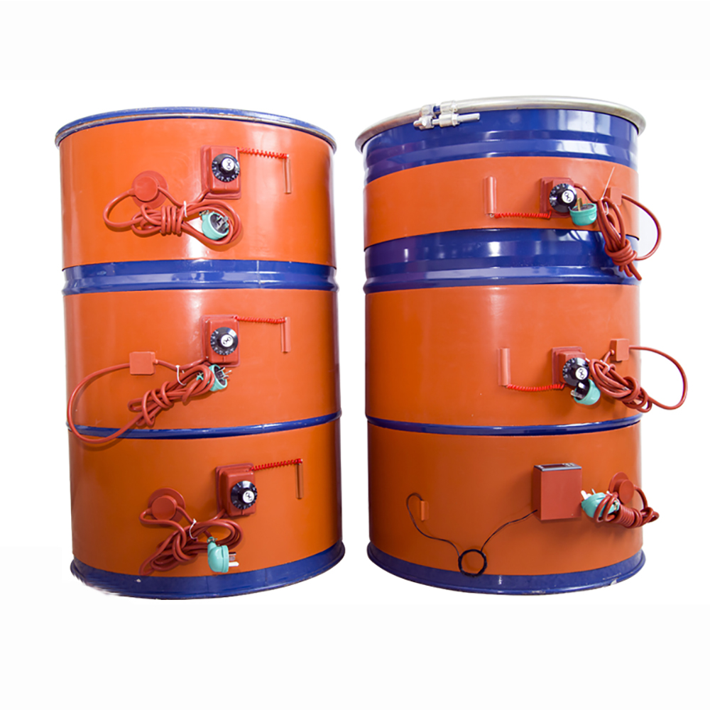 Oil Barrel Silicone Heating Belt Silicone Heater Gasoline Tank Heater Size Can Be Customized