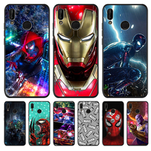 Marvel Avengers For Huawei P8 P10 P20 P30 Mate 10 20 Honor 8 8X 8C 9 V20 20i 10 Lite Plus Pro Case Cover Coque Etui Funda capa marvel luxury for huawei p8 p10 p20 p30 mate 10 20 honor 8 8x 8c 9 v20 20i 10 lite plus pro case cover coque etui funda capa