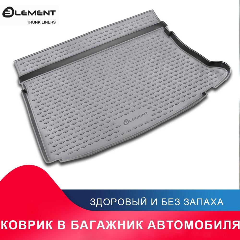высококачественный противоскользящий жиронепроницаемый коврик в багажник для For HYUNDAI i30 2007->, хб. (полиуретан)