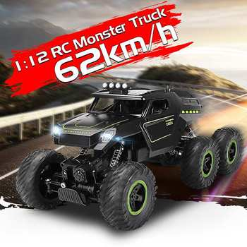 1:12 6WD RC car update version 2.4G radio remote control car car toy car 2020 high speed truck off-road truck children's toys