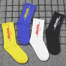 Fashion Socks Cotton Unisex Socks for Men Women Hip Hop Stre