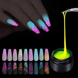 УФ-Гель-лак паук для ногтей Гель-лак для рисования линии ногтевого дизайна лак паук Гель-лак для базового и верхнего покрытия праймер гель